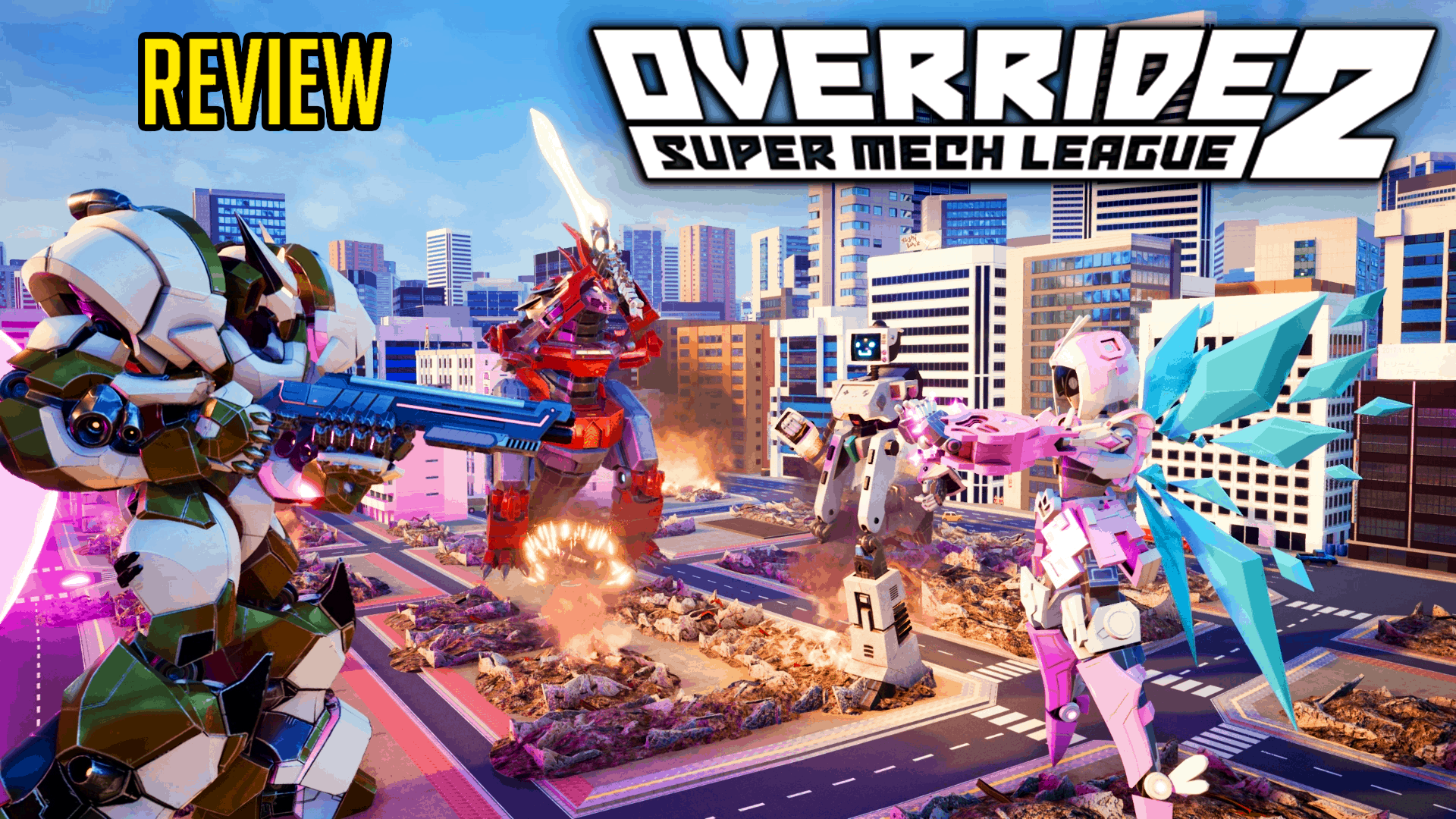 Override 2 Super Mech Mania Review The Beta Network